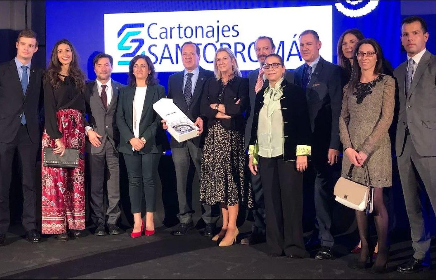 CARTONAJES SANTORROMÁN Empresa familiar riojana 2019